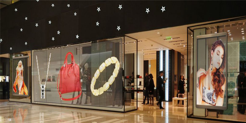 transparent led glass display screen boards singapore zoom visual