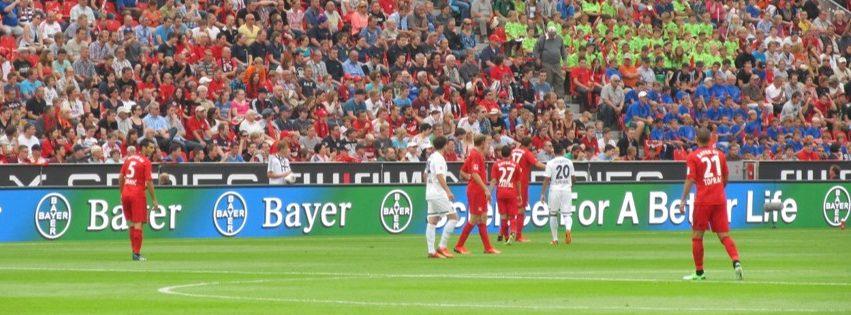 Sport Stadium ground banner LED Bundesliga German 1220sqm