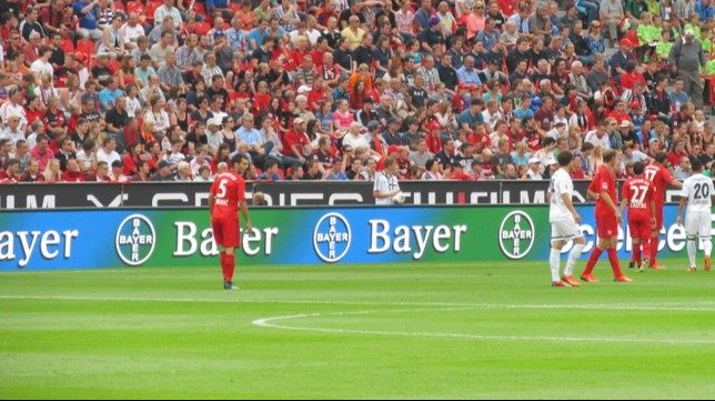 Sport Stadium ground banner LED Bundesliga German 1220sqm