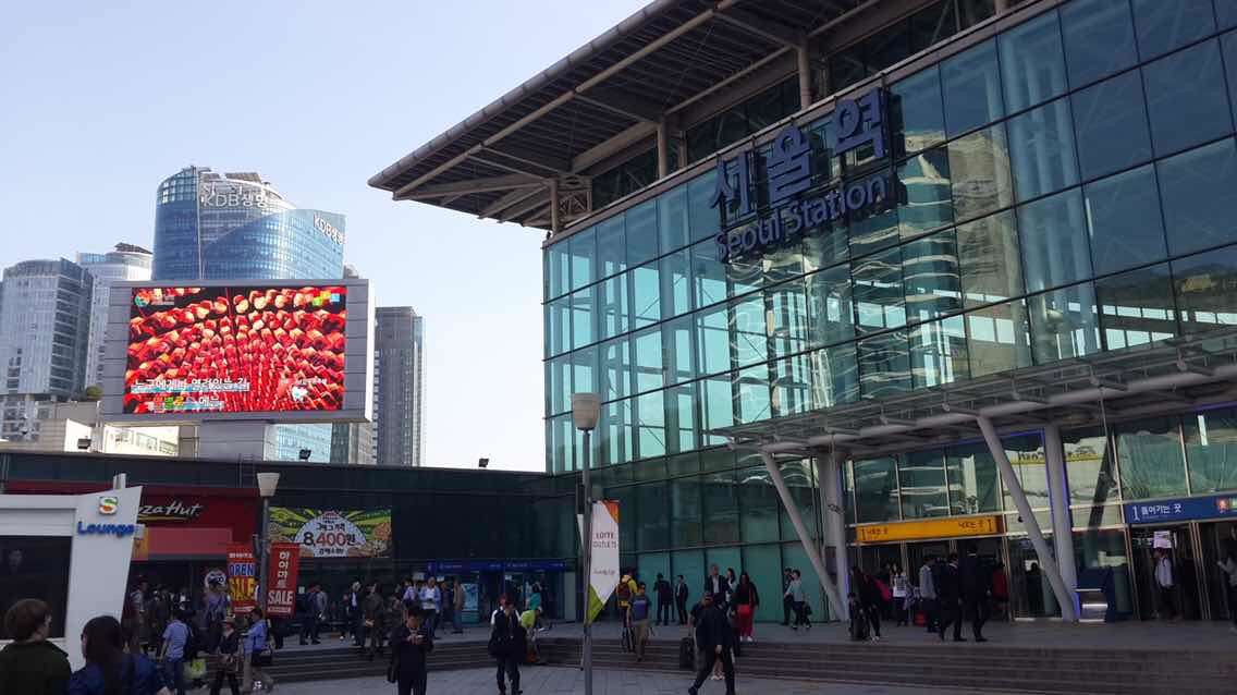 Ustorm16 in Seoul train station Korea 100sqm