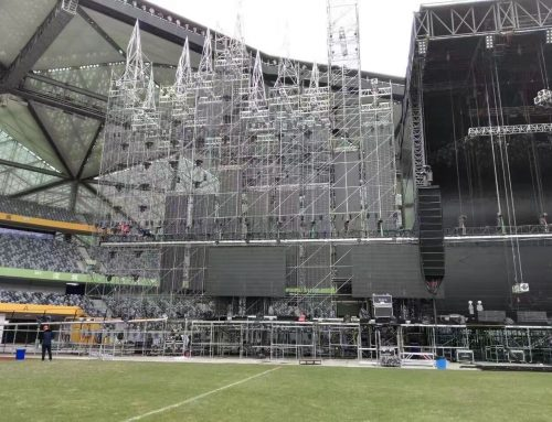 LED Netting Screen Display, Shenzhen Concert China