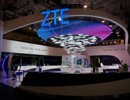 LED Netting Screen Display, ZTE Spain, P55mm