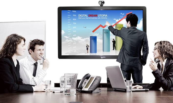 LED Interactive Whiteboard for Business