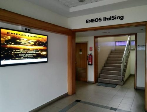 Wall mounted Digital Signage  Screen Size : 55inch