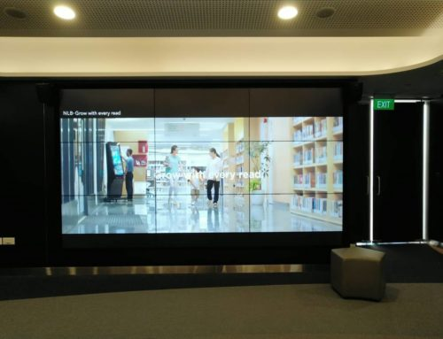 3×3 55 inch LED Video Wall