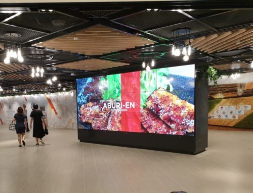 3×4 55 inch LED Video Wall
