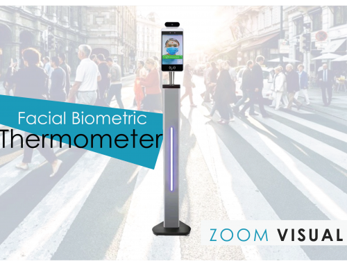Zoom Visual expands support product for COVID 19:  Introduces Facial Biometric Thermometer (A Trusted Brand for Thermal Scanner)