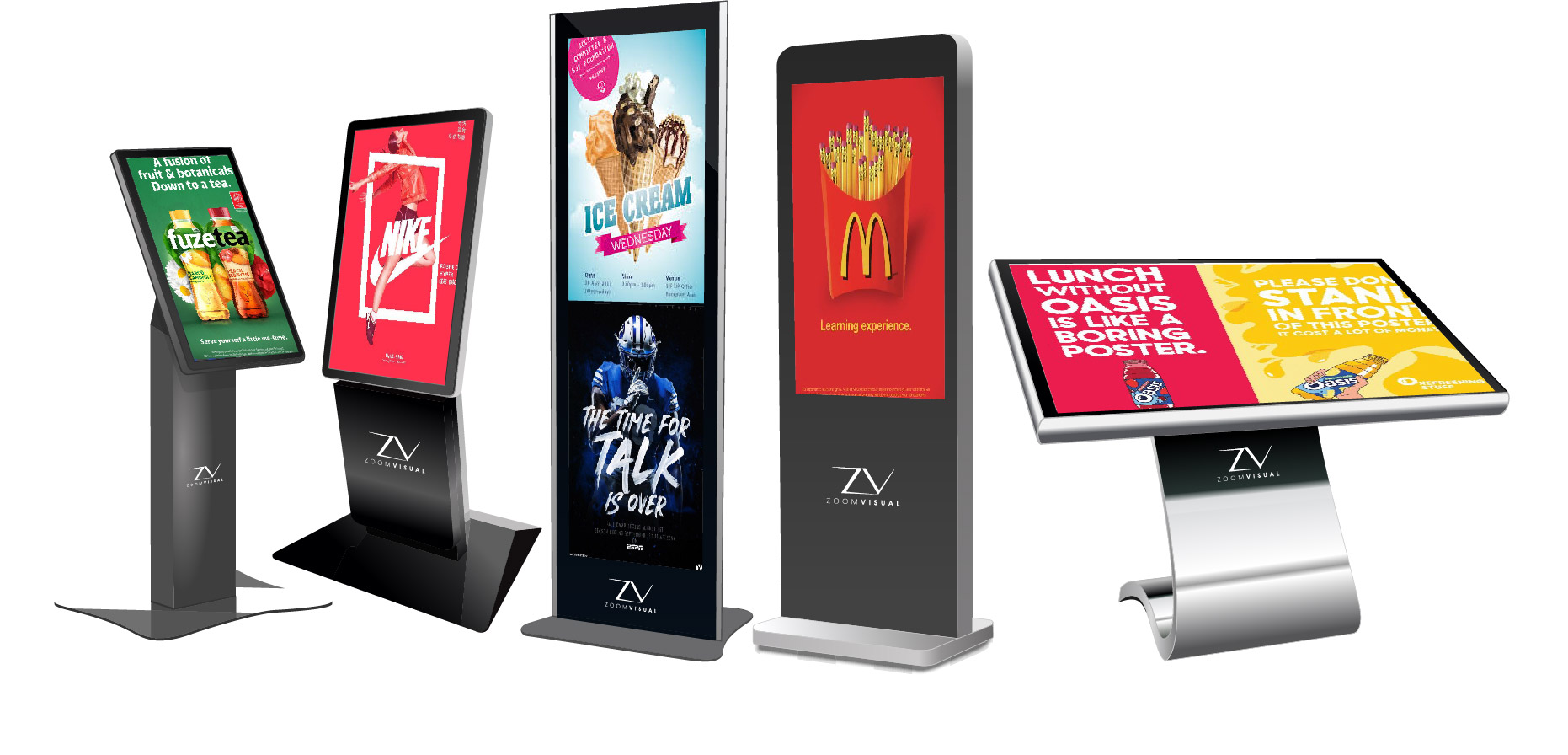 Standing Mobile Kiosk